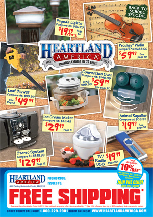 Heartland America is an online retailer that specializes in offering great deals on electronics. The company was founded as a catalog-based business in The company was founded as a catalog-based business in
