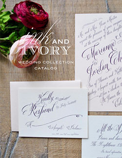 Ink Ivory Wedding Catalog